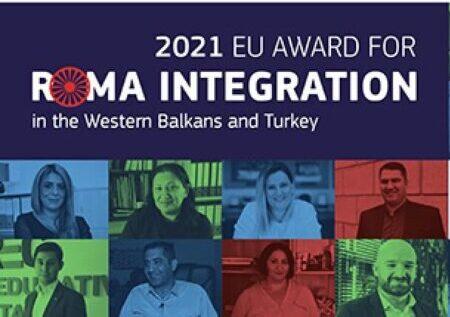 Proglašeni dobitnici Nagrade EU za integraciju Roma 2021. godine na Zapadnom Balkanu i u Turskoj